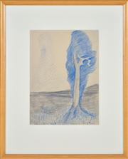 Sale 8374 - Lot 599 - William Merric Boyd (1888 - 1959) - Here & Now, 1948 36.5 x 27cm
