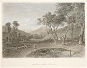 Sale 8573 - Lot 2078 - Nicolas Chevalier (1804 - 1866) (5 works) - Scenes of Colonial Victoria 12.5 x 18.5cm (mount size: 26 x 30cm)