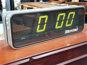 Sale 8684 - Lot 1017 - Large Bodet Electric Flip Clock