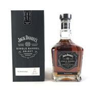 Sale 8830W - Lot 59 - Jack Daniels Single Barrel Select - 2016/2017 My Bottle Shop Tennessee Whiskey with Lable - 45% ABV, 700ml
