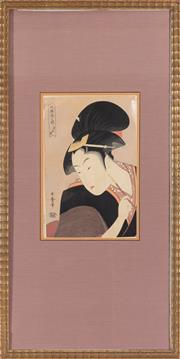 Sale 8994H - Lot 32 - Japanese school - woodblock
