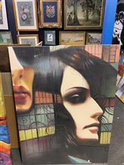 Sale 9011 - Lot 2067 - Artist Unknown Urban Nights acrylic on canvas 120 x 90cm