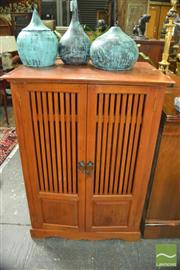 Sale 8398 - Lot 1012 - Timber Cabinet