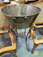 Sale 8465 - Lot 1059 - Icebucket on Stand