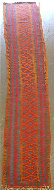 Sale 8676 - Lot 1096 - Persian Kilim Runner (460 x 83cm)
