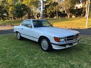 Sale 8776B - Lot 2 - Make: Mercedes-Benz Model: 560SL Body: Convertible Year: 1989 Reg No: DWF 11X Reg Exp: 11/10/19 Ext Colour: White      ...