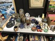 Sale 8819 - Lot 2539 - Collection of Sundries incl Miniatures, Pin Dishes, Clocks etc
