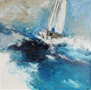 Sale 8870A - Lot 518 - Cheryl Cusick - Against the Wind 102.5 x 101.5 cm