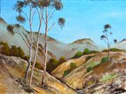 Sale 8301A - Lot 75 - Greg Lipman (1938 - ) - Country Hills 92 x 122cm