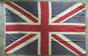 Sale 8319 - Lot 310 - Union Jack Flag circa 1950s