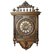 Sale 8342 - Lot 48 - French Oak Carved Wall Clock