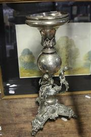 Sale 8351 - Lot 39 - Silver Plated Centrepiece