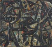 Sale 8722 - Lot 579 - Andrew Ferguson (1959 - ) - Untitled, 1985 93 x 102cm