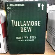 Sale 8801W - Lot 26 - 6x Tullamore Dew Irish Whiskey, 700ml