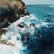 Sale 8947 - Lot 569 - Cheryl Cusick - Turbulance 101 x 101 cm (total: 101 x 101 x 4 cm)