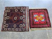 Sale 8962 - Lot 1053 - Persian Baluchi Pieces x 2 (80 x 70cm)
