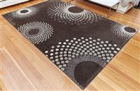 Sale 9080H - Lot 59 - A Turkish carpet by Italtex, a mood rug in brown wool,2m x 3m,