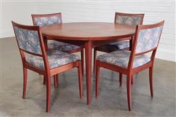 Sale 9191 - Lot 1079 - Parker 5 piece dining suite (h:73 x d:120cm)