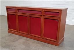 Sale 9191 - Lot 1051 - Chiswell four door sideboard with three drawers (h:77 x w:157 x d:44cm)