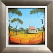 Sale 8363 - Lot 581 - Kym Hart (1965 - ) - Sunday School Playtime 40 x 40cm