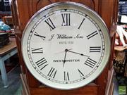 Sale 8480 - Lot 1071 - Oversized Wall Clock