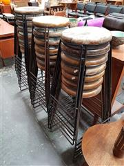 Sale 8684 - Lot 1099 - Large Collection of Barstools