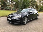 Sale 8776A - Lot 3 - Make: Volkswagen Model: Golf-R Body: 5 Door Hatch Year: 2014 Reg No: DVU 17E Reg Exp: 9/10/19 Ext Colour: Black       ...