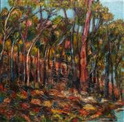 Sale 8901A - Lot 5041 - Stanley Perl (1942 - ) - Amongst the Trees 61 x 61 cm