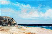 Sale 8947 - Lot 519 - Cheryl Cusick - The Bluff 101.5 x 152 cm (total: 101.5 x 152 x 4 cm)