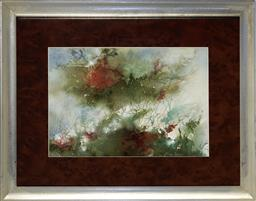 Sale 9113 - Lot 2041 - Gloria Ransom - Ebb Tide watercolour 25 x 35.5 cm (frame: 47 x 57 x 2 cm) signed lower left