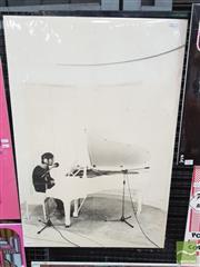 Sale 8421 - Lot 1035 - Vintage and Original John Lennon Pictorial Promotional Poster (83cm x 55.5cm)