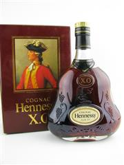 Sale 8439 - Lot 708 - 1x Hennessy XO Cognac - old bottling, in box