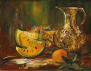 Sale 8504 - Lot 587 - Karlis Mednis (1910 - 1999) - Still Life 49.5 x 63cm