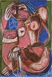 Sale 8738 - Lot 514 - Pasquale Giardino (1961 - ) - Untitled, 2001 (Woman in style of Picasso) 100 x 70cm