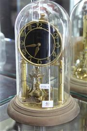 Sale 8327 - Lot 46 - German Dome Case Clock