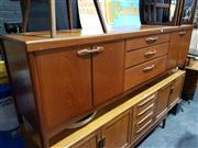 Sale 8705 - Lot 1011 - Nathan Teak Sideboard