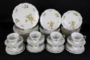 Sale 8902 - Lot 69 - Bavaria (Johann Haviland) Tea/Dinner Service for 12 persons