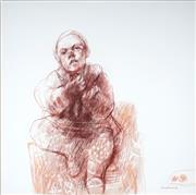 Sale 9063A - Lot 5013 - Margaret Woodward (1938 -) - Franciscos Morsel 70 x 70 cm (frame: 95 x 94 x 6 cm)