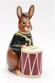 Sale 9052 - Lot 47 - Royal Doulton Bunnybank figural money box (H23cm)