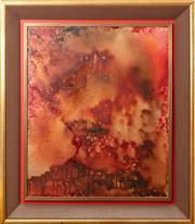 Sale 9071H - Lot 41 - Judy Chapman - Oriental Landscape Signed lower right