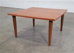 Sale 9191 - Lot 1055 - Retro coffee table (h:33 x w:60 x d:60cm)