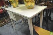 Sale 8347 - Lot 1078 - White Painted Desk