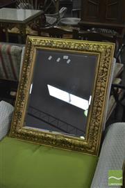 Sale 8398 - Lot 1084 - Small Gilt Framed Mirror