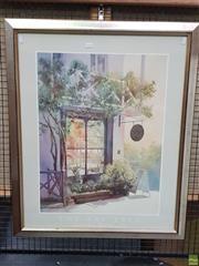 Sale 8595 - Lot 2072 - Judith Roberts The Bay Tree decorative print, 90 x 74cm (frame)