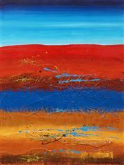 Sale 8633A - Lot 5066 - Julie Crozier - Landscape I 80 x 59.5cm (frame: 107 x 86cm)