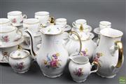 Sale 8635 - Lot 76 - Bernadotte ( Czechoslovakia) Part Tea/Coffee Service