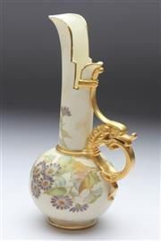 Sale 8677 - Lot 3 - Royal Worcester Narrow Necked Vase Glazed With Roses