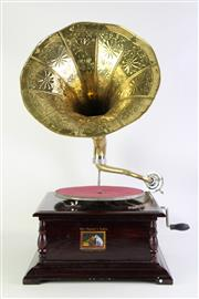 Sale 8860 - Lot 25 - Vintage His Masters Voice Gramophone