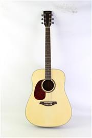Sale 8940 - Lot 2 - Artist Accoustic Guitar