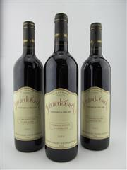 Sale 8398A - Lot 749 - 3x 2003 Greenoch Creek 'Cornerstone' Grenache. Barossa Valley